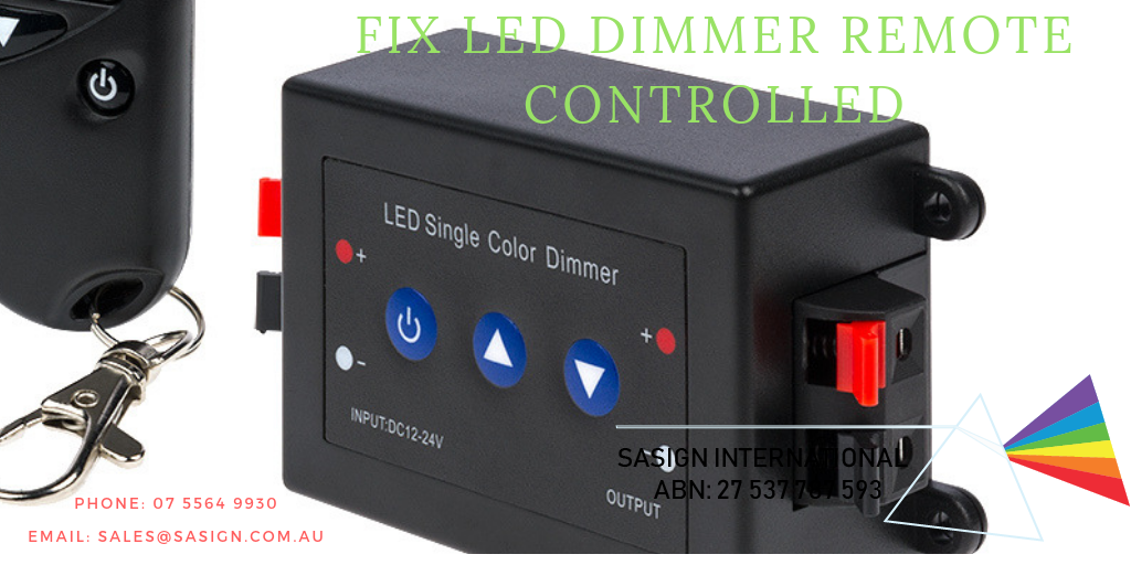 LED Dimmer Remote Controlled